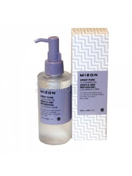 Гидрофильное масло для умывания Mizon Great pure cleansing oil