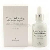 Отбеливающая сыворотка   The Skin House Crystal Whitening Plus Booster Ampoule