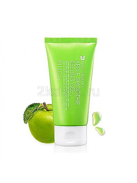 Mizon Apple smoothie peeling gel Яблочная пилинг скатка