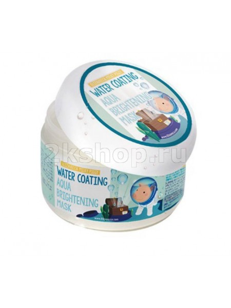 Ночная маска увлажняющая  Elizavecca Milky Piggy Water Coating Aqua Brightening Mask