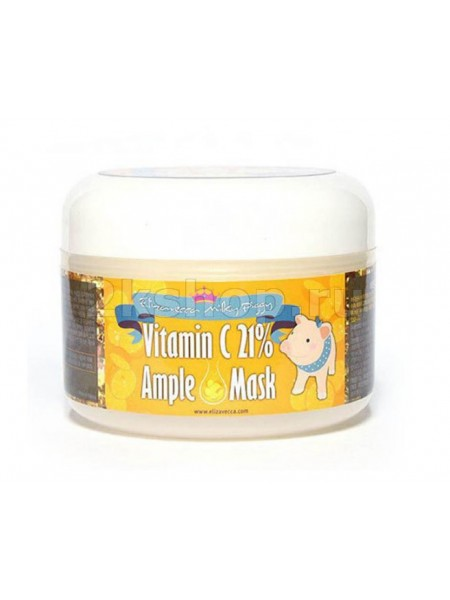 Elizavecca Milky Piggy  Vitamin C 21% Ample Mask Маска для лица с витамином С разогревающая