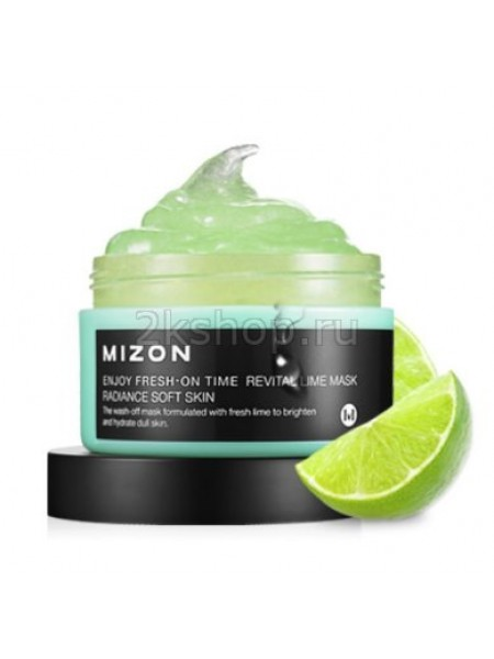 Mizon Enjoy Fresh On-Time mask revital lime mask Маска для лица