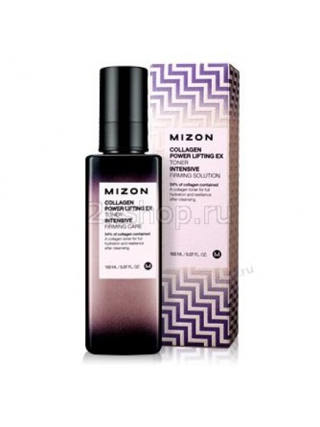 Mizon Collagen power lifting ex toner Тонер коллагеновый 54%