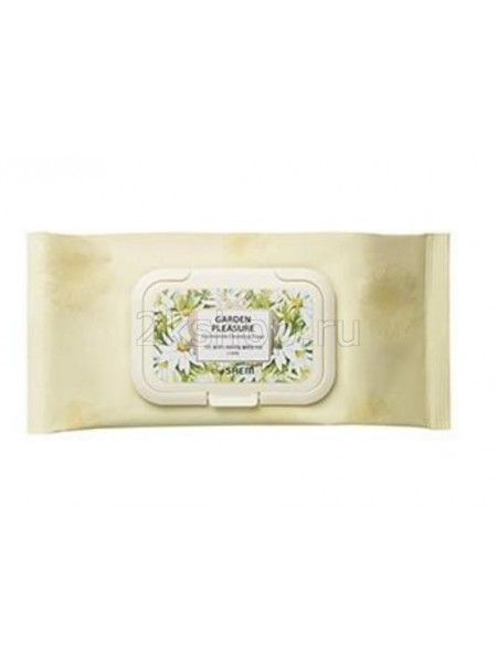 The Saem Garden pleasure Chamomile cleansing tissue Салфетки очищающие