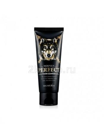 Secret Key Wolf Guy Perfect Foam Cleanser Пенка очищающая для мужчин