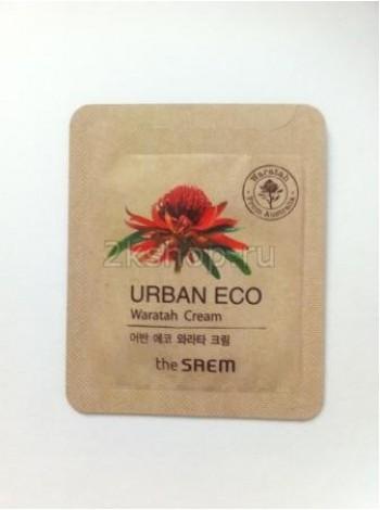The Saem Urban Eco Waratah Cream - Sample (Pouch) Крем для лица с экст. телопеи пробник