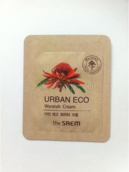 The Saem Urban Eco Waratah Cream - Sample (Pouch) Крем для лица с экст. телопеи пробник