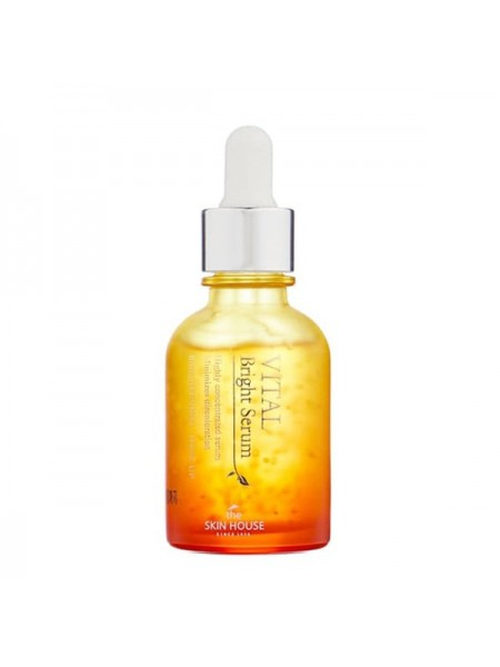 Ампульная сыворотка для сияния кожи The Skin House Vital Bright Serum (Ampoul) 30ml