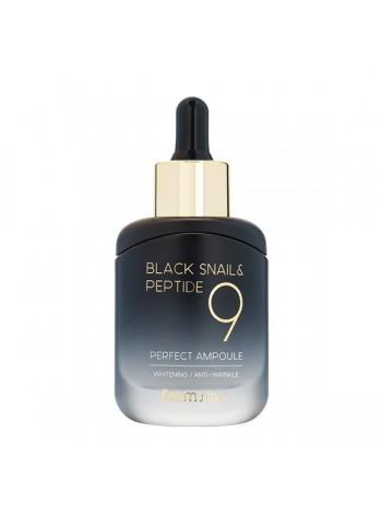 Ампульная сыворотка с пептидамиFarmStay Black Snail & Peptide 9 Perfect Ampoule