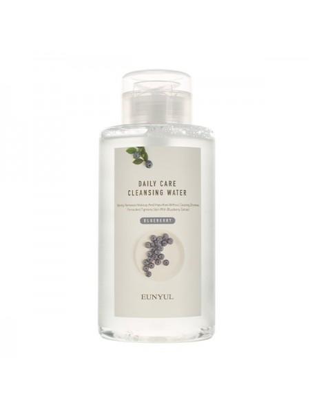 Мицеллярная вода для снятия макияжа с экстрактом черники EUNYUL Daily Care Blueberry Cleansing Water 500ml
