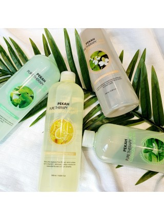 Pekah Pure Therapy Aloe Cleansing Water Мицеллярная вода с экстрактом алоэ 500 мл