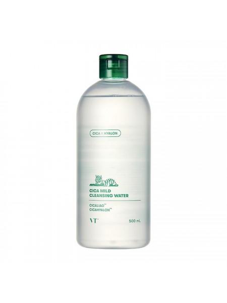 Очищающая вода с центеллой азиатской и гиалуроновой кислотой VT Cica Mild Cleansing Water
