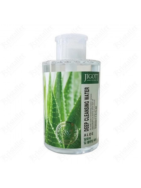Мицеллярная вода с Алоэ Jigott Deep Cleansing Water Aloe