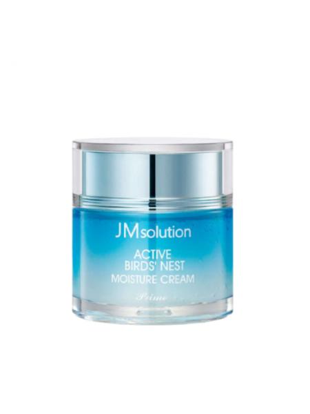 Крем с экстрактом ласточкиного гнезда JMsolution  Active birds' nest moisture cream prime, 60мл