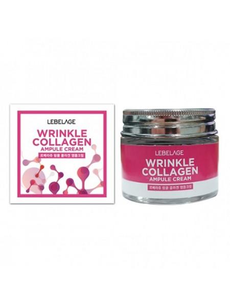 Ампульный крем с коллагеном против морщин LEBELAGE Ampule Cream Wrinkle Collagen