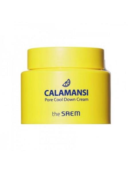 Охлаждающий крем с каламанси для сужения пор THE SAEM Calamansi Pore Cool Down Cream 100мл