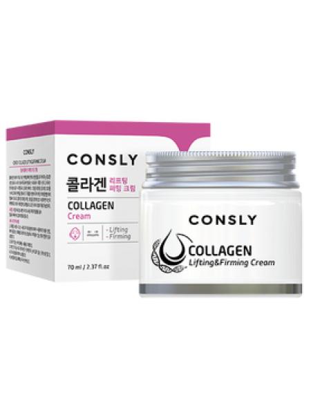 Лифтинг-крем для лица с коллагеном Consly Collagen Lifting&Firming Cream, 70ml
