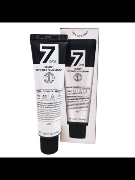 Крем для лица  пептидами May Island  7 Days Secret Peptide 8 Plus Cream, 50мл.