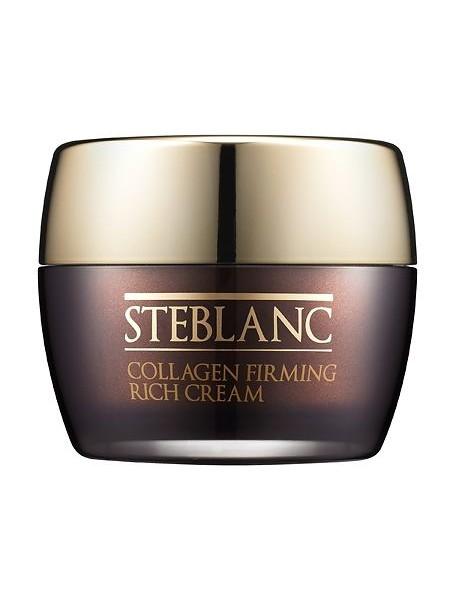 Питательный крем для лица с 54% коллагеном и эффектом лифтинга Steblanc Collagen Firming Rich Cream