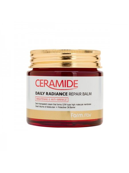 Восстанавливающий бальзам с керамидами FarmStay Ceramide Daily Radiance Repair Balm