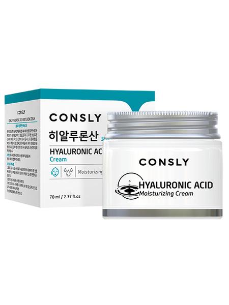 Увлажняющий крем для лица с гиалуроновой кислотой Consly Hyaluronic Acid Moisturizing Cream, 70ml