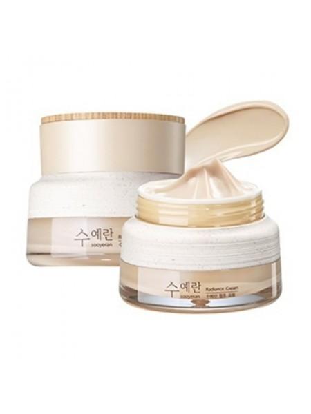 Крем для яркости кожи THE SAEM Sooyeran Radiance Cream