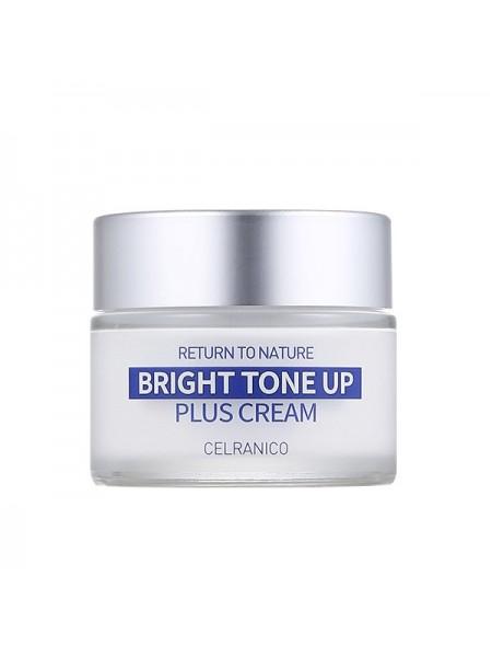 Крем для сияния кожи CELRANICO Return To Nature Bright Tone Up Plus Cream 50ml