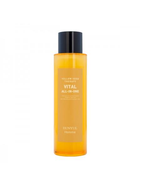 Универсальное увлажняющее средство для мужчин EUNYUL Yellow Seed Therapy Vital Homme All-In-One