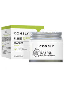 Крем для проблемной кожи с экстрактом чайного дерева Consly Tea Tree Anti-Blemish Cream, 70ml