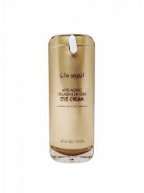 Антивозрастной крем для кожи вокруг глаз с коллагеном и золотом La Soyul Anti-Aging Collagen & 24K Gold Eye Cream 30 мл