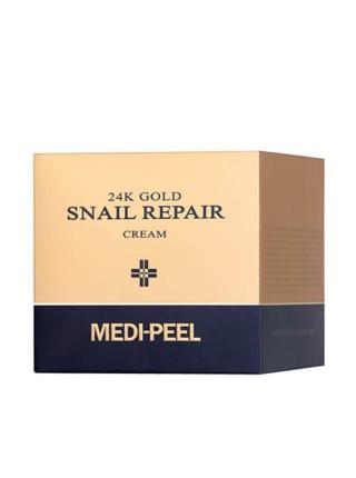 Премиум-крем с золотом и муцином улитки Medi-Peel 24K Gold Snail Cream