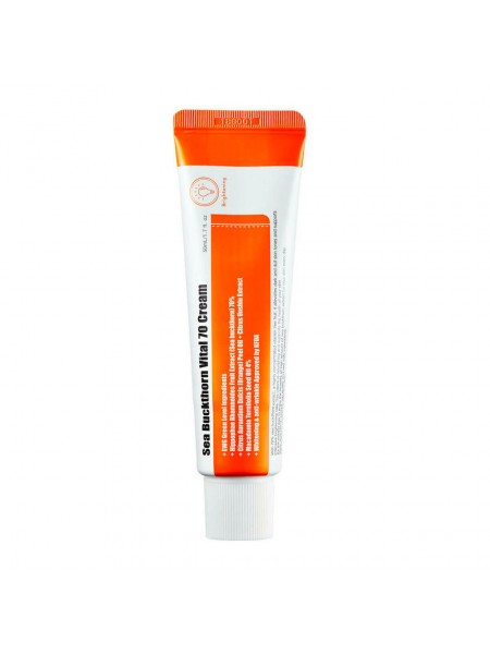 Витаминный крем с экстрактом облепихи Purito Sea Buckthorn Vital 70 Cream