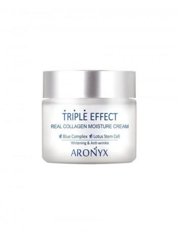 Увлажняющий крем с морским коллагеном Тройной эффект ARONYX Triple Effect Moisture Cream, 50мл
