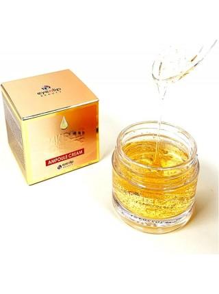 Ампульный крем с 24K золотом и пептидами EYENLIP 24K Gold & Peptide Ampoule Cream