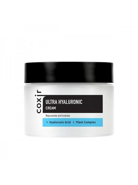 Увлажняющий крем с гиалуроновой кислотой Coxir Ultra Hyaluronic Cream 50ml