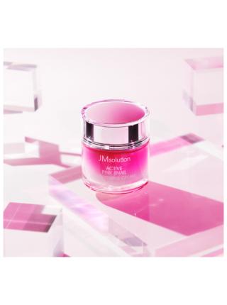 Осветляющий крем с экстрактом улитки JMsolution Active pink snail brightening cream prime, 60мл