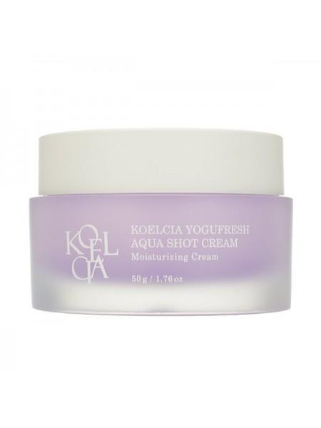 Увлажняющий крем для увядающей кожи Koelcia Yogufresh Aqua Shot Cream 50g