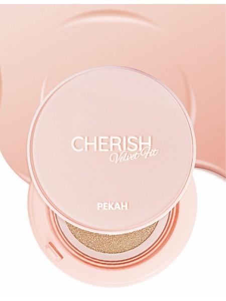 Pekah Cherish Velvet Fit Кушон SPF50+ PA++++