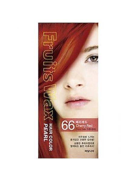 Welcos Fruits Wax Краска для волос  Fruits Wax Pearl Hair Color  #66