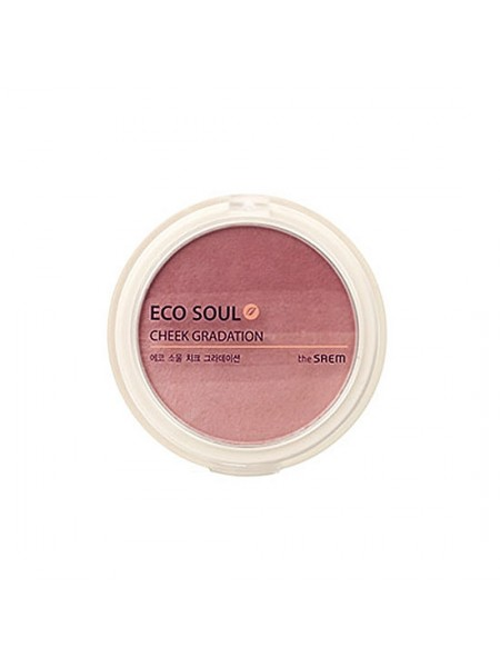 The Saem Eco Soul Cheek Gradation  Румяна компактные