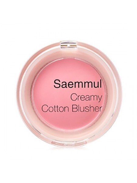 The Saem Saemmul Creamy Cotton Blusher  Румяна увлажняющие