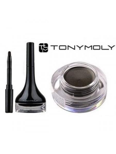 Tony Moly Back Gel Eyeliner  Гелевая подводка для глаз