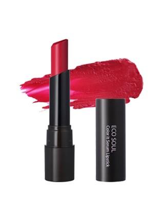 The Saem Eco Soul Color It Serum Lipstick Питательная помада-сыворотка для губ
