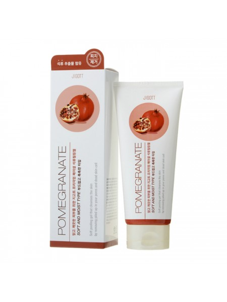 Пилинг-гель с экстрактом граната Premium Facial Pomegranate Peeling Gel