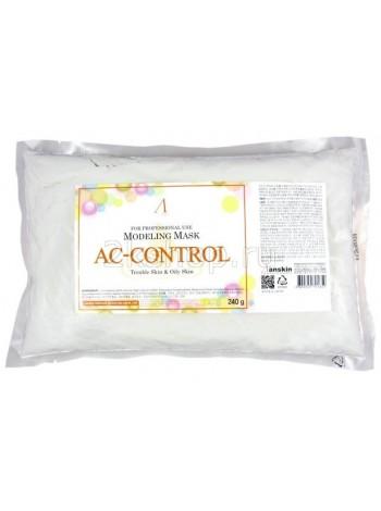 Альгинатная маска лля проблемной кожи с акне  Anskin AC Control Modeling Mask(240g)