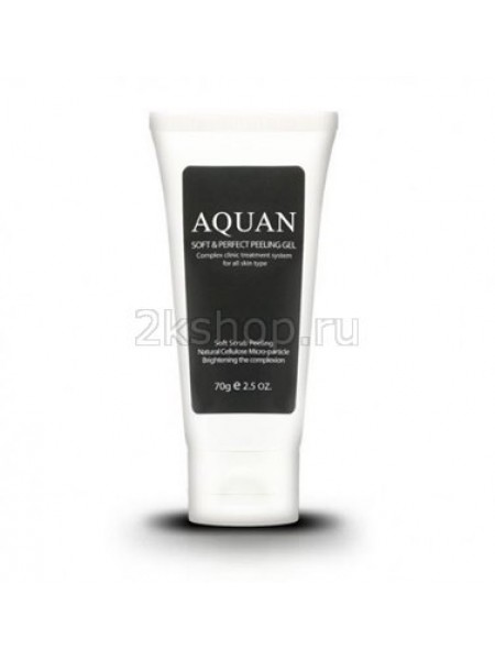 Anskin Aquan Soft & Perfect Peeling Gel Пилинг скатка для лица