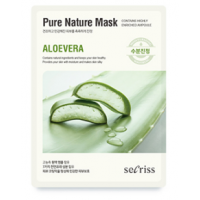 Anskin Secriss Pure Nature Mask Pack- Aloevera Увлажняющая тканевая маска для лица с алоэ