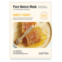 Anskin Secriss Pure Nature Mask Pack- Sweet honey Питательная тканевая маска для лица с медом