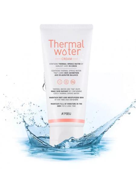 A'PIEU Thermal Water Cream Крем для лица увлажняющий с термальной водой