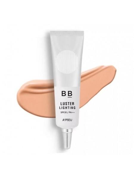 ВВ-крем с эффектом сияния A'PIEU Luster Lighting BB Cream SPF30/PA++